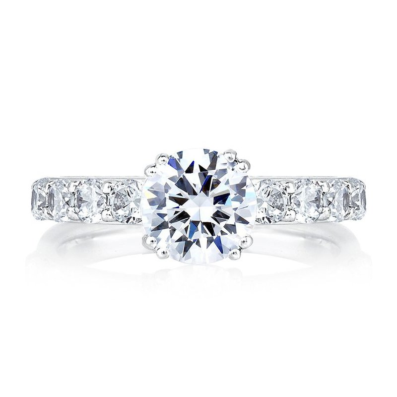 A. Jaffe Timeless Classic Shared Prong Engagement Ring