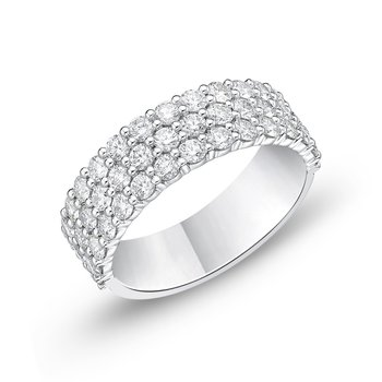 Diamond Three- row Band