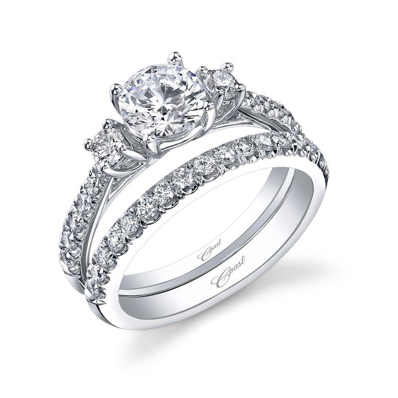 Coast Diamond Three Stone Engagement Ring