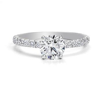 Black Label Diamond Pave Ring