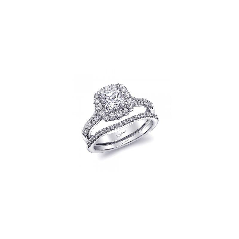 Coast Diamond Halo Diamond Engagement Ring