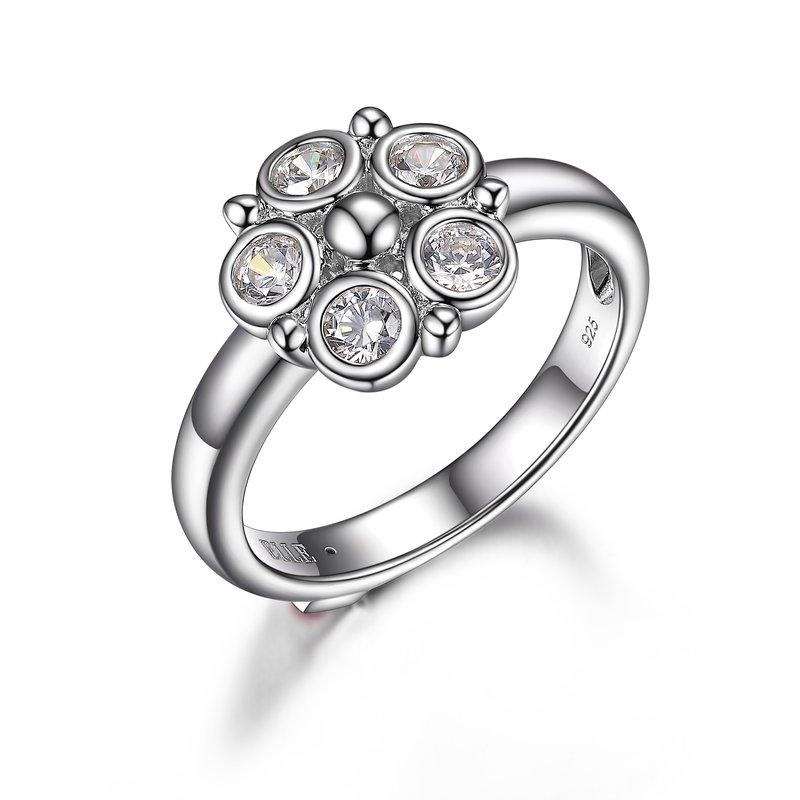 ELLE Boutique Bubble Collection Cluster Ring