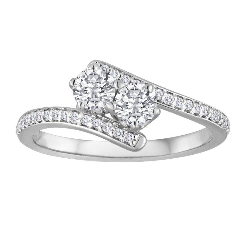 Forevermark EVER US Two Stone Diamond Ring, Featuring Forevermark® Diamonds