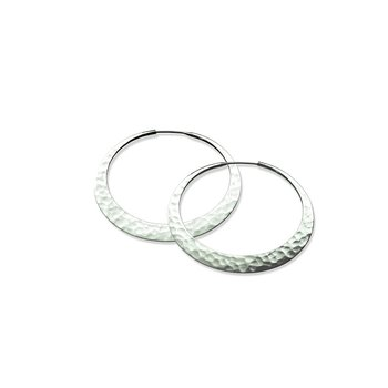EcoSilver Eclipse Hoops