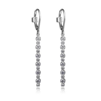 Rodeo Drive Collection Dangle Earring - White