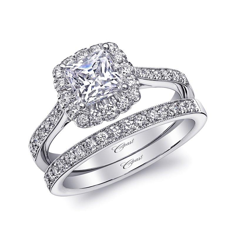 Coast Diamond Matching Bead Set Wedding Band