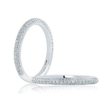 Micro-Pavé Diamond Wedding Band
