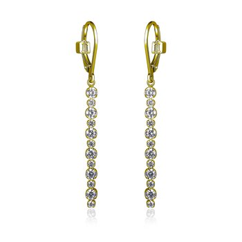 Rodeo Drive Collection Dangle Earring - Yellow