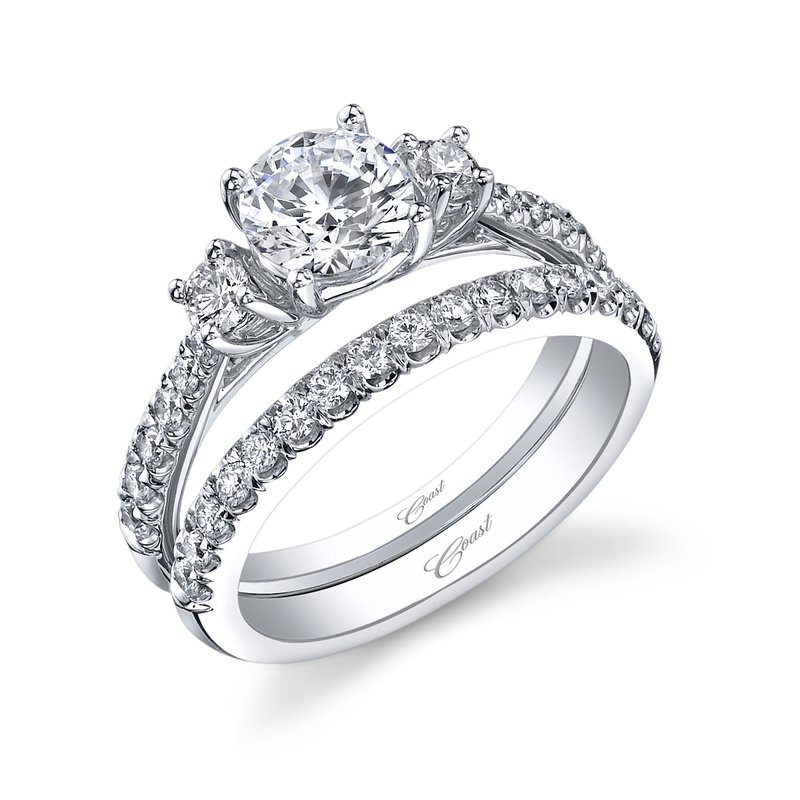 Coast Diamond Diamond Wedding Band