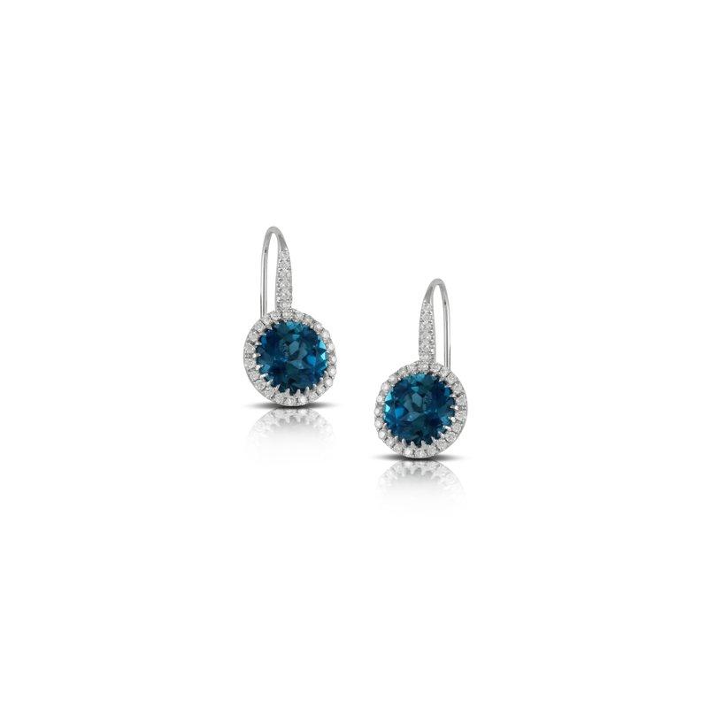 Doves London Blue Drop Earrings