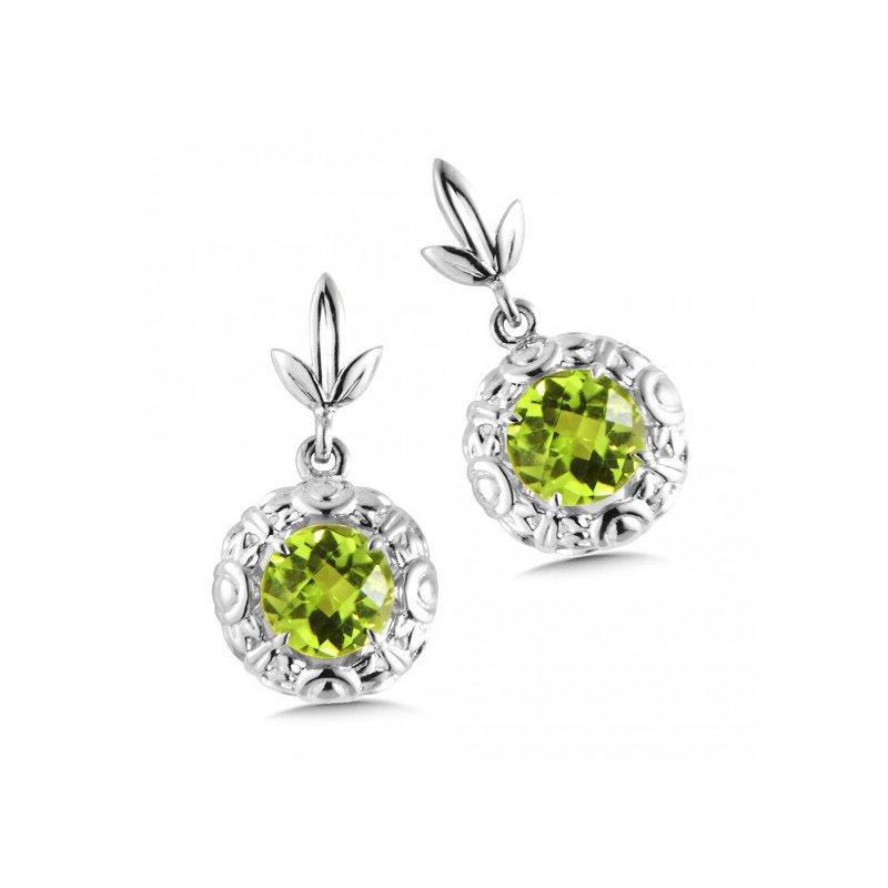 Colore SG Peridot Dangle Earrings