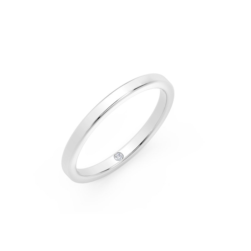 Forevermark Engagement & Commitment Collection 2mm Squared Band