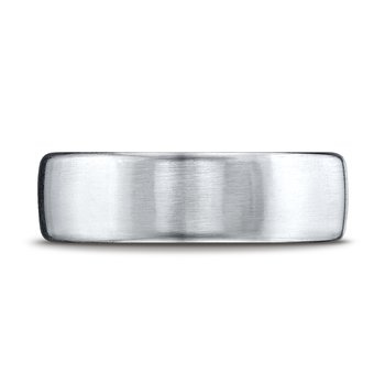 Gents palladium wedding band
