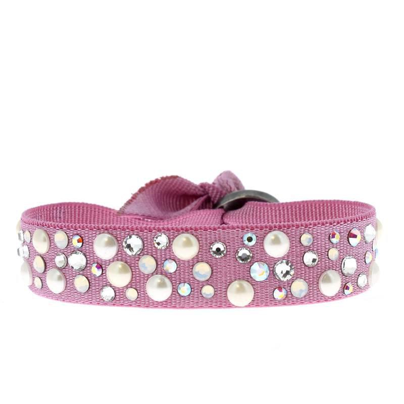 Les Interchangeables Pearl Ribbon Bracelet 12