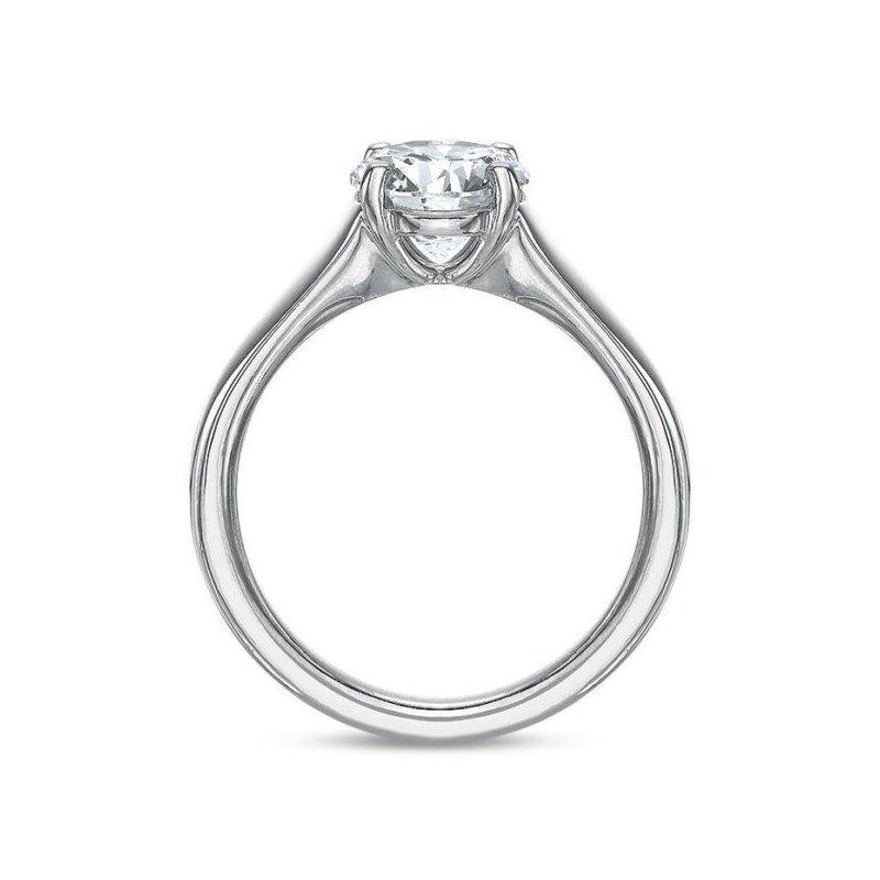 Precision Set Solitaire Engagement Ring