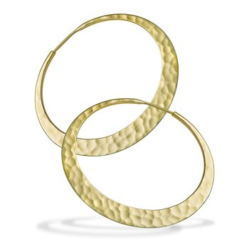 EcoGold Eclipse Hoops