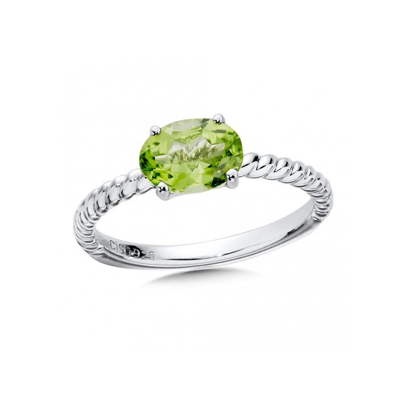 Colore SG Peridot Stacking Ring