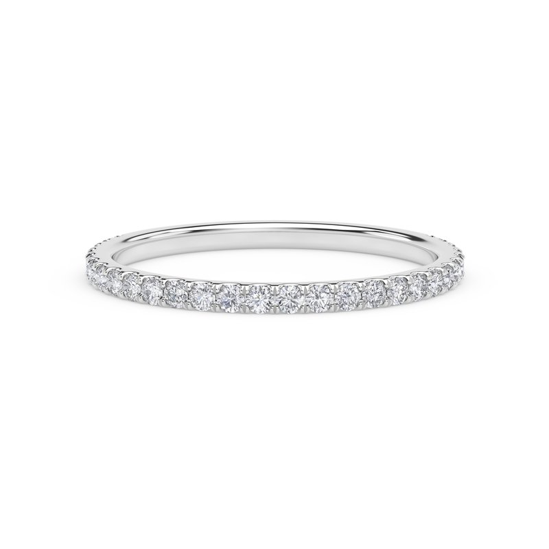 Forevermark Engagement & Commitment Collection French Pave Band