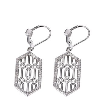 Lattice Collection Dangle Earrings