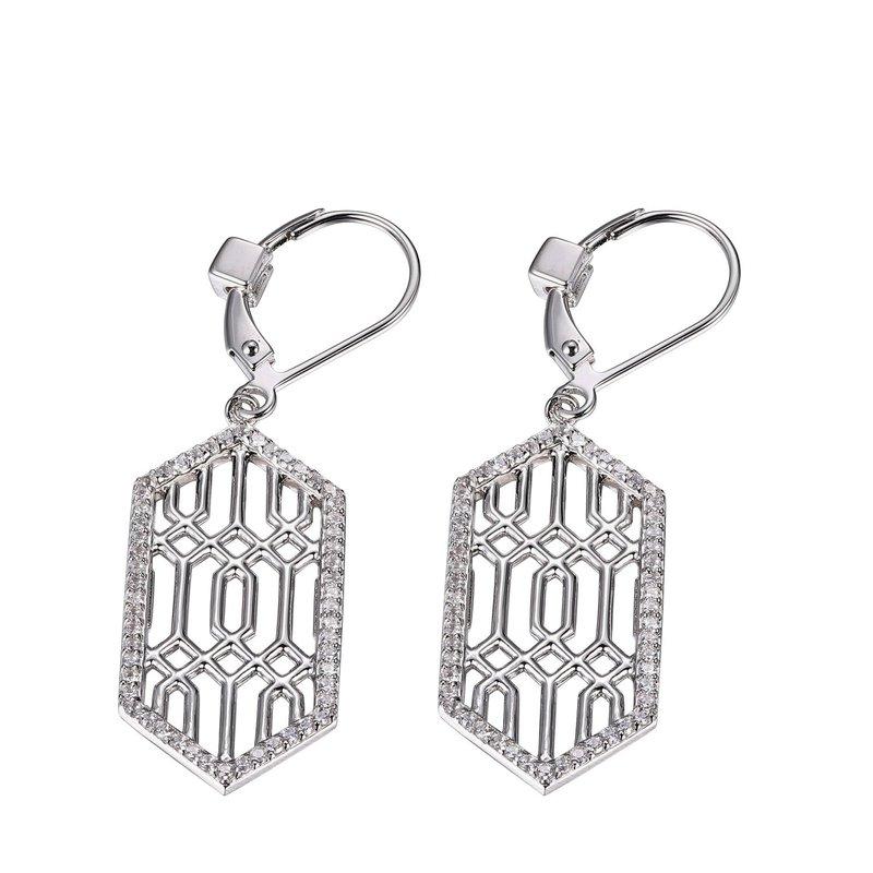 ELLE Boutique Lattice Collection Dangle Earrings