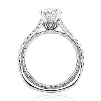Regal Split Signature Engagement Ring