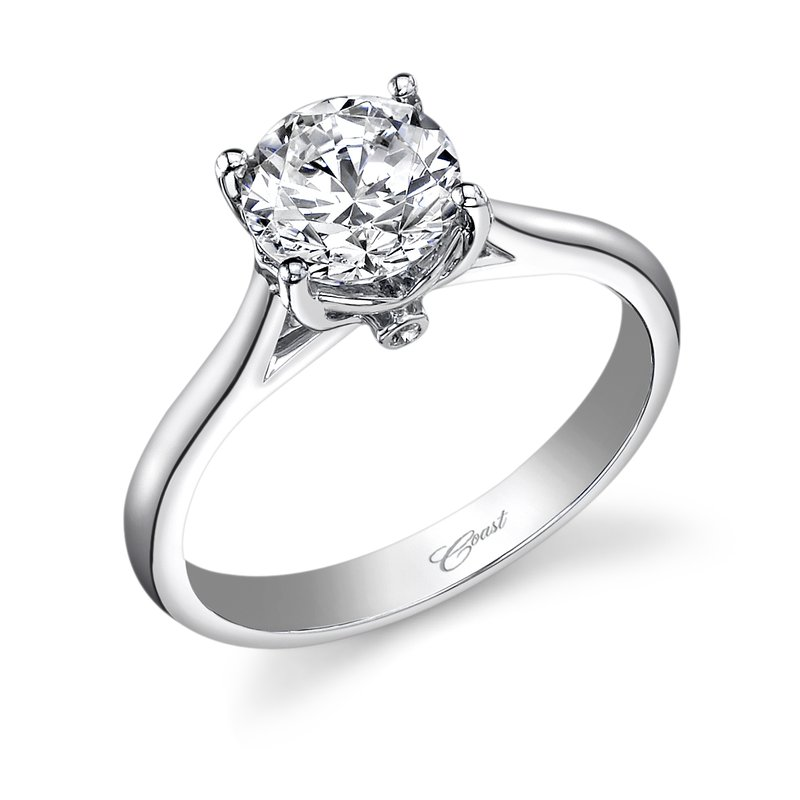 Coast Diamond Diamond Solitaire Engagement Ring