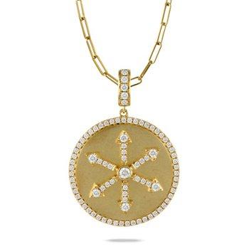 Fibonacci Medallion Pendant