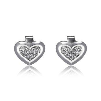 Amour Heart Earrings