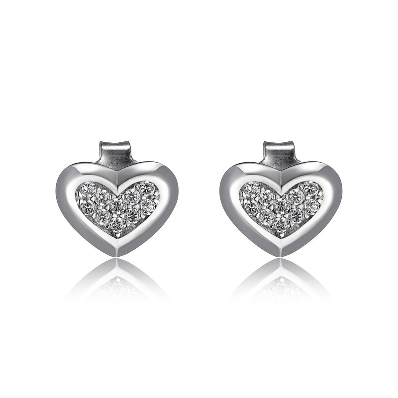 ELLE Boutique Amour Heart Earrings