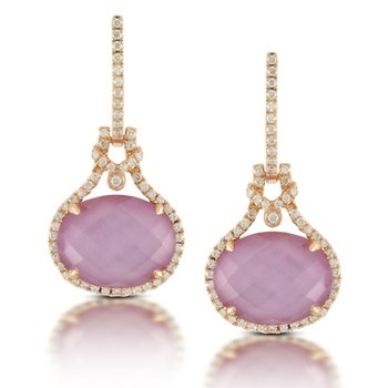 Viola Drop Earring