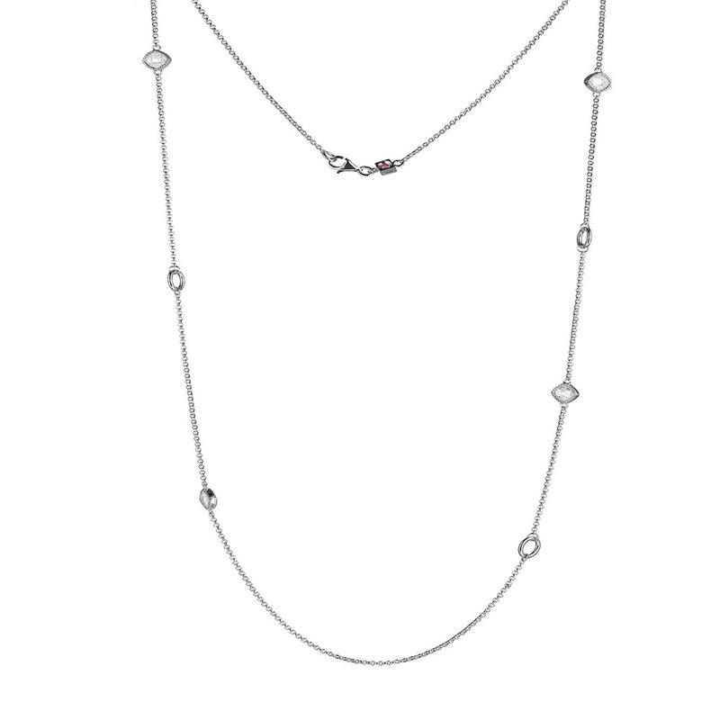 ELLE Boutique Essence 3.0 Collection Necklace - White