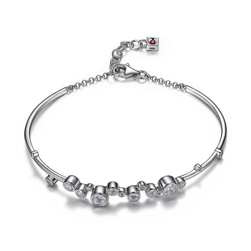 ELLE Boutique Bubble Collection - White Bracelet