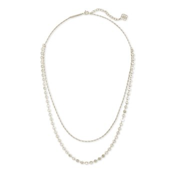 Sydney Multi Strand Necklace In Silver