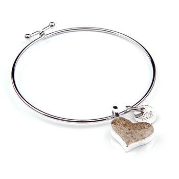 Dune Jewelry Beach Bangle -Heart