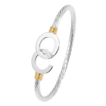 Ocean City Hook Cable Bangle