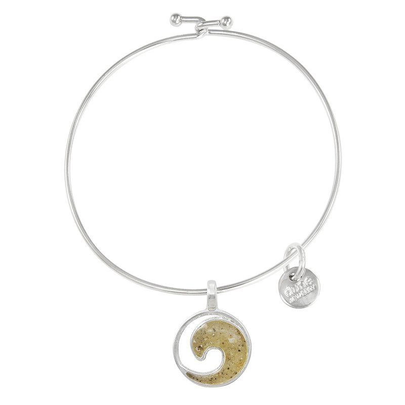 Dune Jewelry Dune Jewelry Beach Bangle -Wave