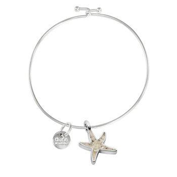 Dune Jewelry Beach Bangle - Delicate Starfish