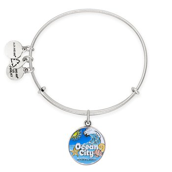 2020 Ocean City Maryland Alex and Ani bracelet - Silver