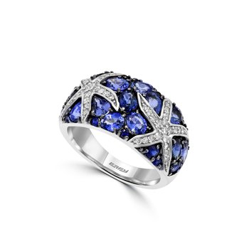 Watercolors Collections 14kt White Gold Sapphire Ring