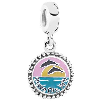 Ocean City Pandora Jumping Dolphin Charm