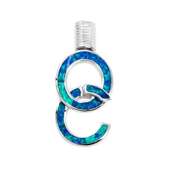 Ocean City Hook Opal Pendant