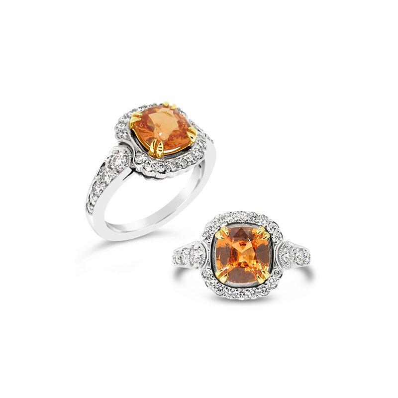 Aires Signature Collection spessartite garnet ring