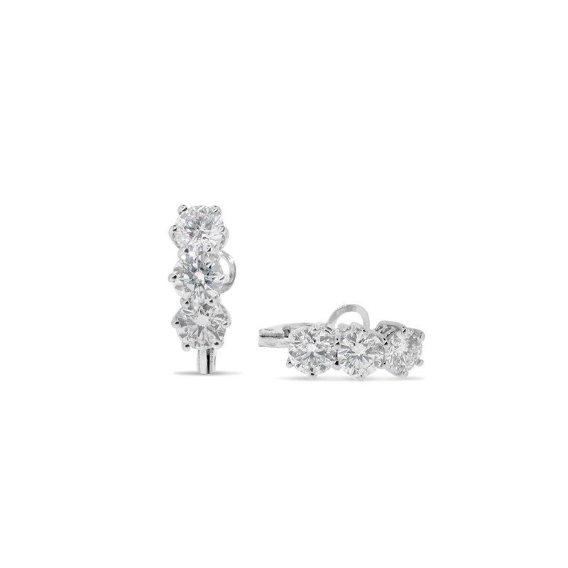 Aires Custom Fashion diamond earrings