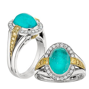 Oval Pariaba Ring