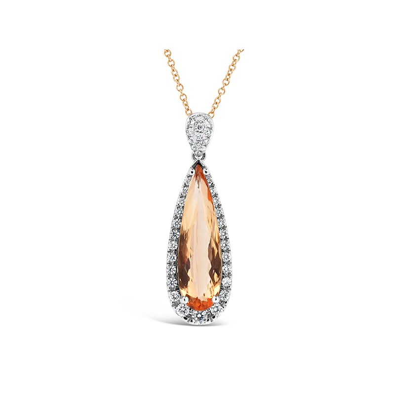 Aires Signature Collection Imperial Topaz pendant