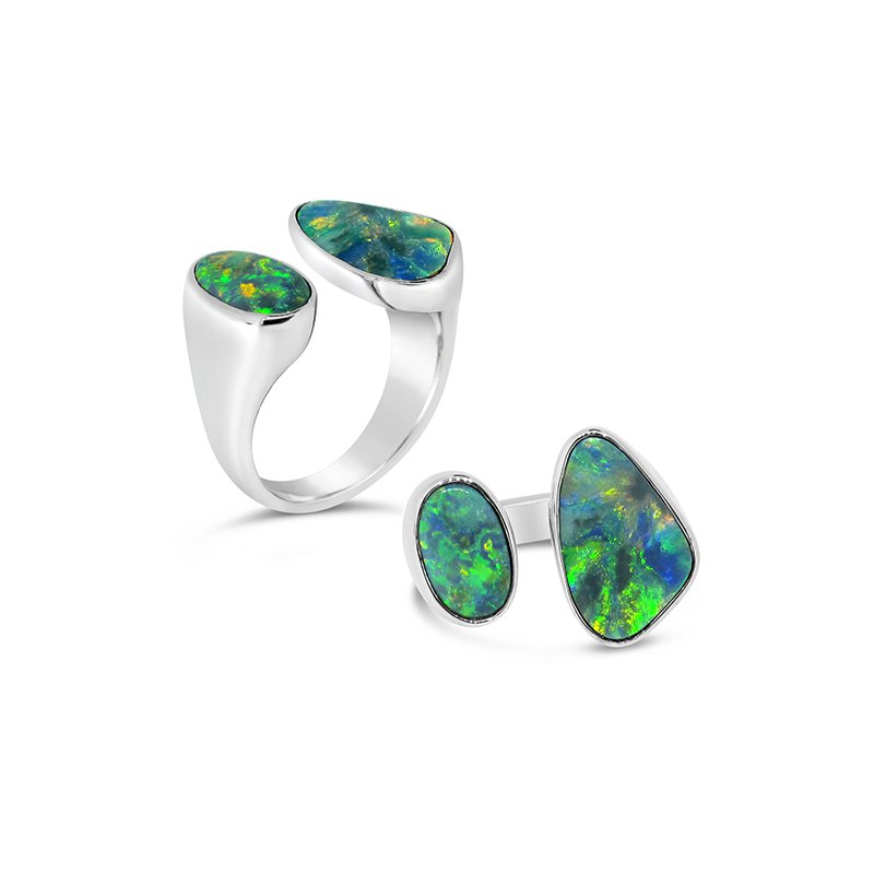 Aires Custom Fashion opal ring