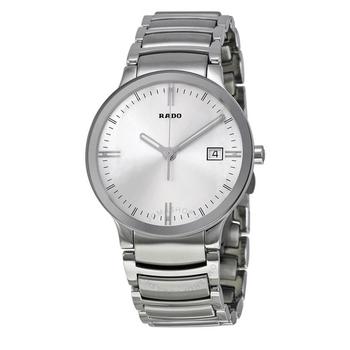 Centrix Silver Dial Quartz Men's Watch
