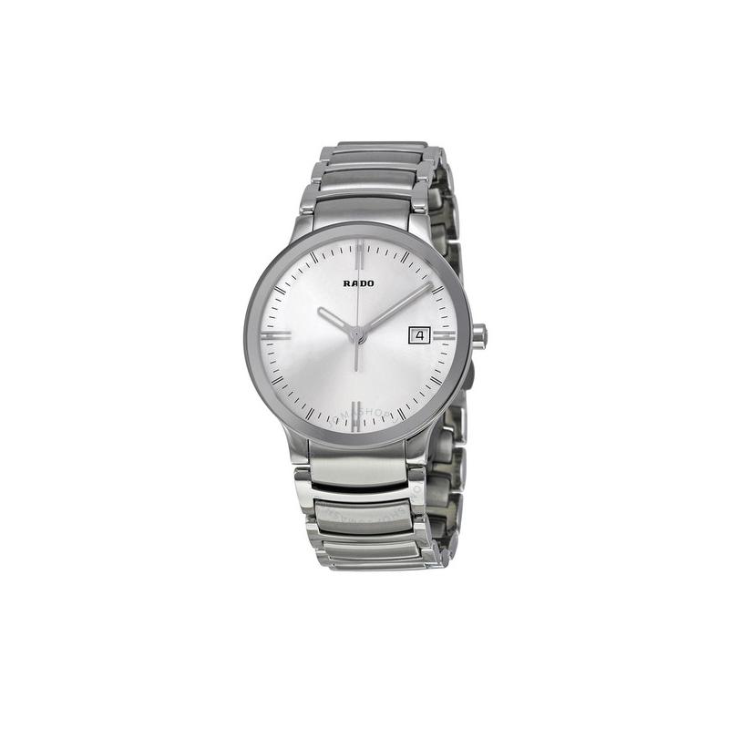 Rado Centrix Silver Dial Quartz Men's Watch