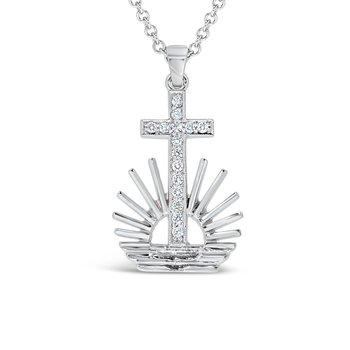Large NAC diamond Pendant