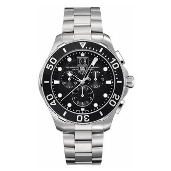 Aquaracer Chronograph Black Dial Men's Watch CAN1010.BA0821
